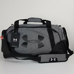 UNDER ARMOUR DUFFLE BAG UA UNDENIABLE 3.0 MD UNISEX BLACK/GREY WATER-REPELLENT