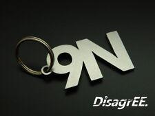 "Schlüsselanhänger ""9N"" Polo 1,2 1,4 1,9 TDI FSI GTI - Edelstahl"