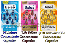 Balea Lift Effect / Q10 Anti-wrinkle / Moisture Concentrate Capsules