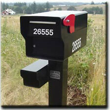 "3"" Vinyl Address Decals or Stickers for a FORT KNOX MAILBOX"