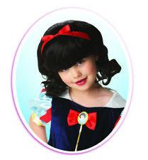 Fancy Dress ~ Childs Disney Snow White Wig