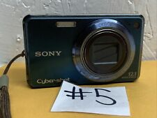 Sony Cyber-shot DSC-W290 12.1MP Digital Camera - Blue As Is For Parts
