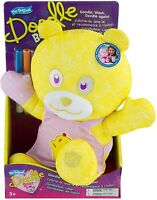 The Original Doodle Bear 14ʺ Plush Toy with 3 Washable Markers - Chef