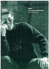 BMW Lifestyle Accessories Branded Merchandise Prices 1995-96 UK Market Brochure
