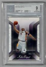2004-05 UD Ultimate Kobe Bryant Base Card #'D 082/750 BGS 9 MINT Lakers Card #45