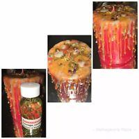 Self Empowerment Ritual Candle Oil Wiccan Pagan Hoodoo