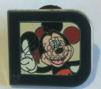 Mickey Mouse 40 Classic D collection HM disney pin  W