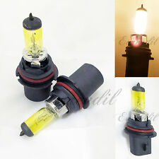 9004 Yellow High/Low Beam 3000K 3K Halogen Xenon Gas #St2 Head Lamp Light Bulbs
