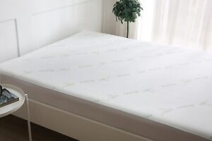 New BAMBOO Waterproof Protector Breathable Fitted Extra Deep Mattress  Protector