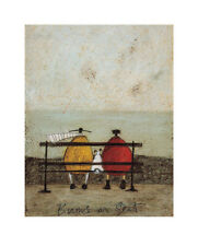 Sam Toft Bums On Seat Contemporary Humor Funny Print Poster 16x20