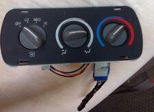 Rear Heat Controls 1999 Chevy Express Van
