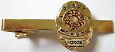 DONUT Doughnut Police Mini Badge Law Enforcement SHERIFF TIE BAR CLIP