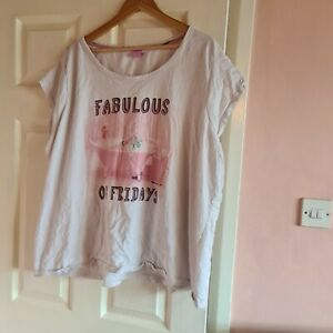Ladies short pyjama set Barbie 2 x tops/bottoms