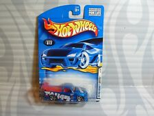 """2001 HOT WHEELS  """"FIRST EDITIONS"""" #017 = SUPER TUNED = BLUE  , 0910"""