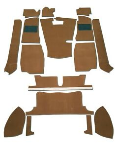 Replacement Car Carpet Set Autumn Leaf Brown-High Quality(Fits MG MGB Roadster)