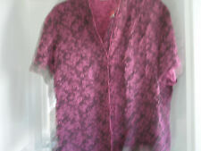MARKS/SPENCER CHINESE STYLE BLOUSE SIZE 18