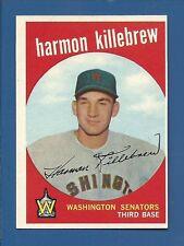 1959 Topps HIGH # 515 Harmon Killebrew Wash. Senators  EX+  Additional ship free
