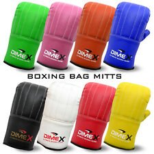 Boxing Bag Mitts Gloves Grappling Punch Bag MMA UFC Muay Thai Training Dimex