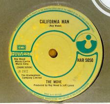 "THE MOVE "" CALIFORNIA MAN ""   SUPERB ORIGINAL 45 L@@K"