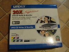 LITEON 20X DVD/CD WRITER & REWRITER