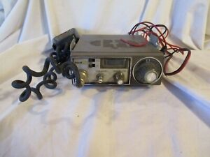 TRAM XL 23 CHANNEL CB TRANSCEIVER RADIO W/MIKE MIC ( UNTESTED ) SER.# X 28516