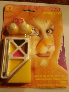 Cat/Lion/ Face Makeup KIT by Rubies NEW