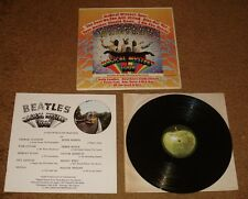 THE  BEATLES MAGICAL MYSTERY TOUR ORIGINAL APPLE LABEL WITH 24 PAGE BOOKLET