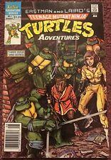 TEENAGE MUTANT NINJA TURTLES ADVENTURES 1 Archie Comics 1988 Price Variant RARE