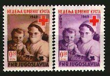 597 - Yugoslavia 1949 - Red Cross - Porto - MNH Set