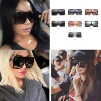 XXL Huge Oversized Betty Women Sunglasses Aviator Flat Top Square Shades UV400