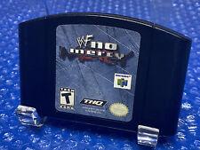 WWF No Mercy -- Authentic Original Nintendo 64 N64 Wrestling Game WWE Retro RARE