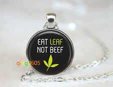 silver Chain Pendant Necklace wholesale Vegetarian Quote glass dome Tibet