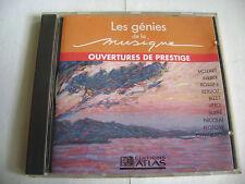 Les Génies De La Musique - Ouvertures de Prestige (CD - Édition Atlas) Mozart