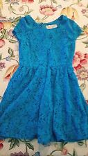 NWT Urban Outfitters Coincidence & Chance Blue Lace Dress
