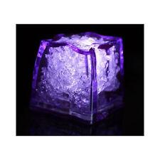 Purple Litecubes (24 Pack) Light Up Led Ice Cubes 2 Dozen