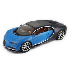 Bburago Bugatti Chiron bleue vehicule Miniature 11040bl