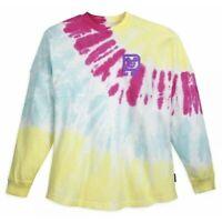 Disney Tie-Dye Spirit Jersey Adult LARGE Disney Parks Yellow Pink Blue Purple