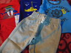 20 Lot of 4 New pcs of Newborn 3 months Baby Boy Clothing Carter's Okie Dokie