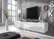 Meuble TV Suspendu Flottant Rocco 160 cm