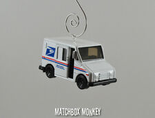 Custom Christmas Ornament 1/64 US Postal Service Mail Delivery Truck USPS UPS