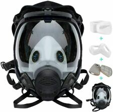 15 In 1 Full Face Gas Mask Respirator Painting Respirator Facepiece Reusable Usa