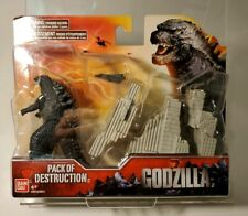 NEW Godzilla Pack of Destruction Playset Bandai 2014 Movie Figure #39511