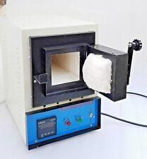 Digital Muffle Furnace Rectangular Lab Science Heating Equipment 220V Free Ship