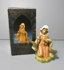 "1992 Roman Inc. 5 Inch Fontanini Heirloom Collection ""Mary"" Figure #72512"
