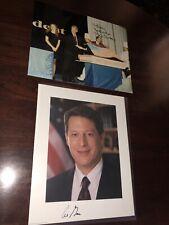 PRESIDENT BILL CLINTON & VICE SENATOR AL GORE SIGNED PHOTOGRAPHS