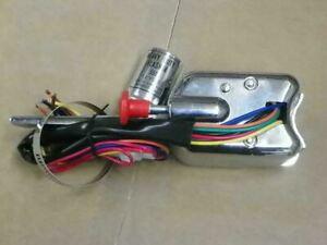 New Chrome Turn Signal Switch w/ Flasher 6V or 12V Vintage Hot Rod Rat Rod TS160