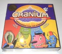 CRANIUM Board Game 1998 - 2004 Adults & Teens FACTORY SEALED NOS MIB NEW