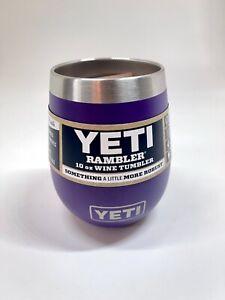 YETI Peak Purple Wine Tumbler 10 oz *Rare* NWT - FREE SHIPPING