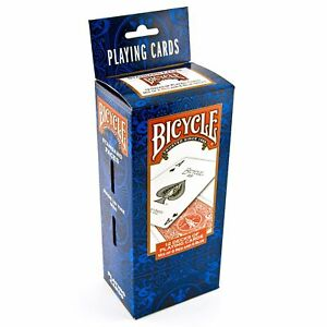 Bicycle Playing Cards Standard Face Decks of 2, 4, 6, 12 or 24 Poker Made in USA