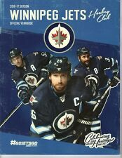 2016 2017 WINNIPEG JETS YEARBOOK PROGRAM STANLEY CUP CHAMPIONS? SCHEIFELE